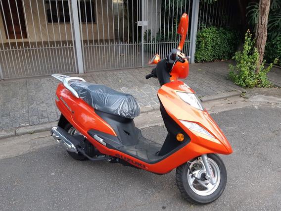 Suzuki Burgman I Aut 2019 Com Nota Fiscal Unica Dona 600 Km