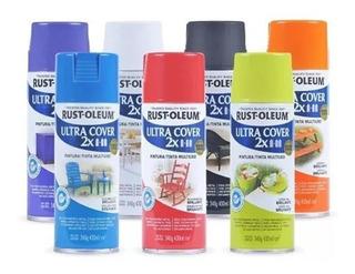 Pintura Aerosol Rust Oleum Ultra Bco/color 426ml/cm3 Pintumm