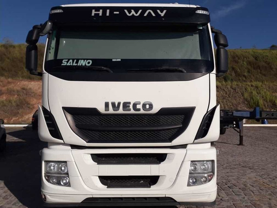 Iveco Hi-way 440 6x2 2017 Mb/volvo/scania/vw