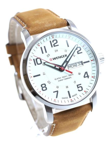 Relógio Masculino Suíço Wenger Linha Atitude 42mm 011541.103