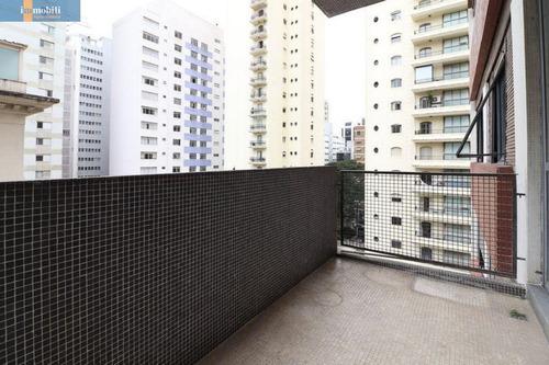 Apartamento Para Venda No Bairro Santa Cecília Em São Paulo - Cod: Pc93639 - Pc93639