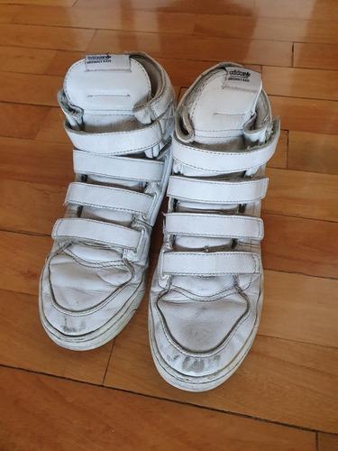 Zapatillas Botitas Blancas adidas Originals Mujer Hombre