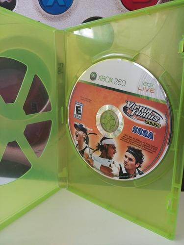 Virtua Tennis 2009 Xbox 360 Original Físico Usado