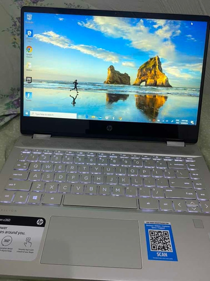 Notebook Hp Pavilion 2 Em 1 - Touch Screen