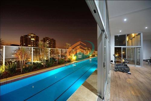 Studio Com 1 Dormitório À Venda, 38 M² Por R$ 335.000,00 - Vila Augusta - Guarulhos/sp - St0063