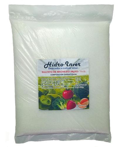 Sulfato De Magnesio Fertilizante Soluble Para Hidroponía.