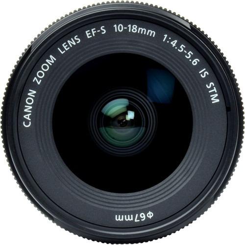 Canon Ef-s 10-18mm F/4.5-5.6 Is Stm Garantia Novo