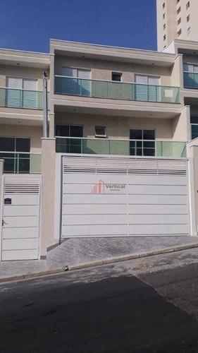 Sobrado Com 2 Dormitórios À Venda, 74 M² Por R$ 550.000,00 - Vila Prudente (zona Leste) - São Paulo/sp - So2248