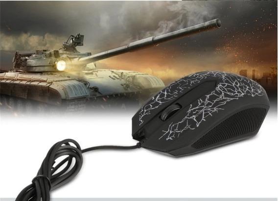 Mouse Laser Gamer Usb 3200 Dpi Pc Note Alta Precisão