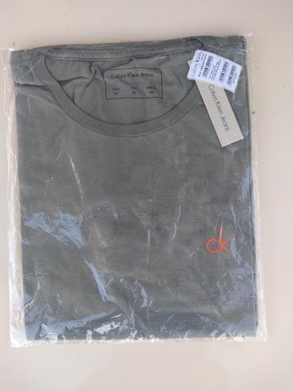 Camiseta Básica Masculina Calvin Klein Original