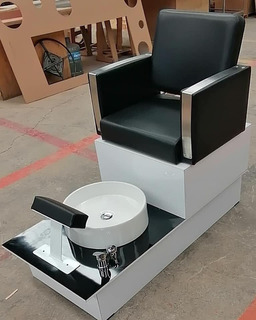 Hermoso Sillon De Pedicure Para Estetica Y Spa