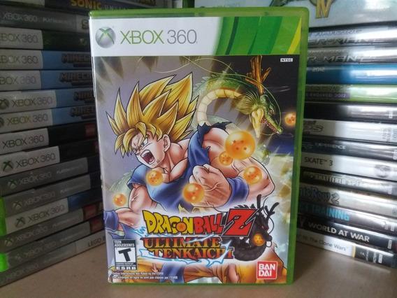 Jogo Dragon Ball Z Ultimate Tenkaichi Xbox 360 Original