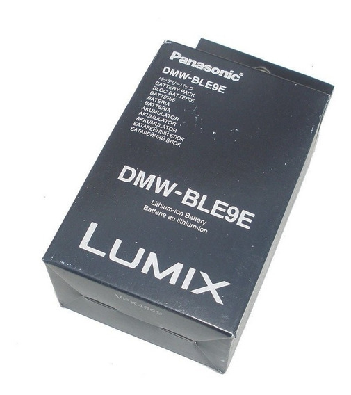 Bateria Panasonic Dmw-ble9e Dmc-gf3 Dmc-gf5 Dmc-gf6