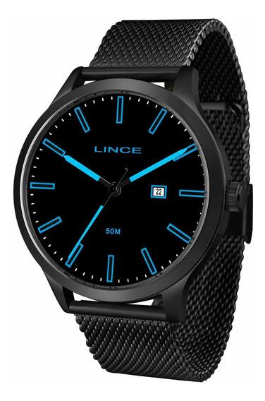 Relógio Lince Masculino Mrn4494s Papx Preto - Refinado
