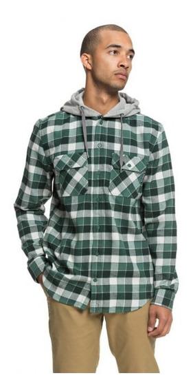 Dc Camisa M/l Lifestyle Hombre Runnels Verde