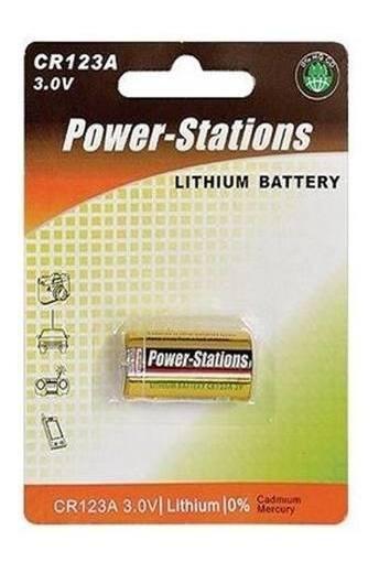 15pcs Bateria Pilha 3v Cr123a Lithium Original Power Station