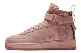 Tênis Nike Air Force 1 Special Field Mid Rose Suede,imediato