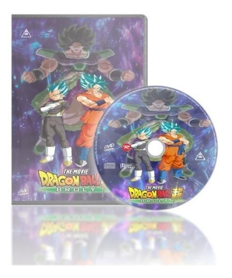 Dvd Filme Dragon Ball Super Broly Dual Áudio