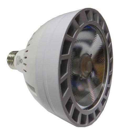 Lâmpada Led Par30 E27 35w Alumínio Branco Quente 3000k