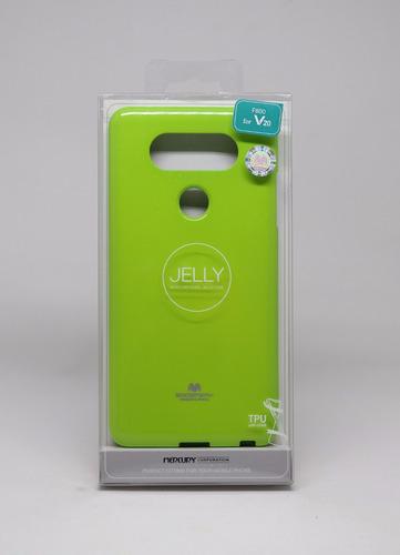 Protector Funda LG V20 Mercury Goospery Jelly Case Limon
