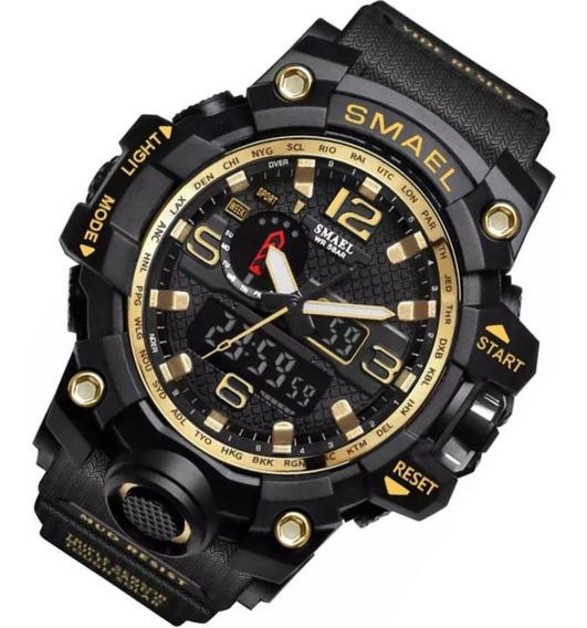 Relógio Smael 1545 Militar Shock Prova D