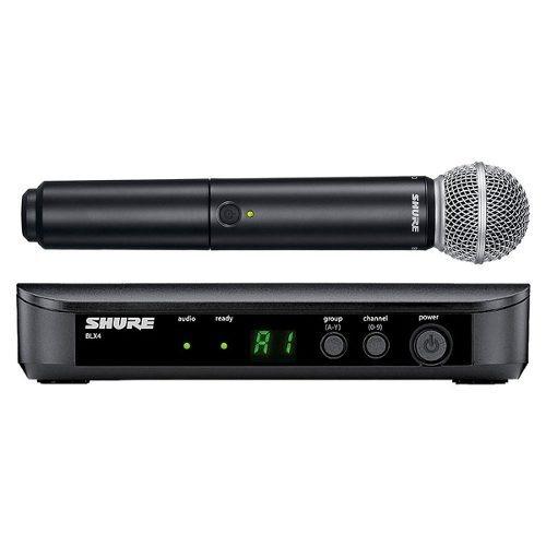 Microfone Sem Fio De Mão Blx 24br Sm58 - Shure