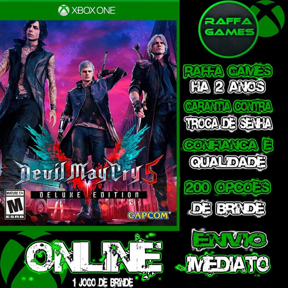 Devil May Cry 5 Deluxe Edition Xbox One Online + Brinde