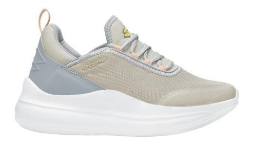 Tenis Casual Lotto Bionic 2.0 6034 Gris Mujer