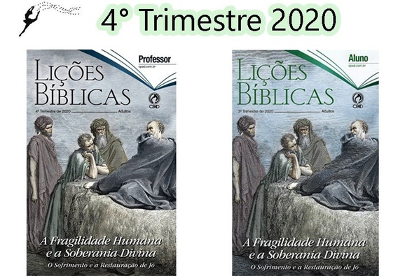 Kit Revista 4° Trimestre 2020 Adulto 10 Alunos + 2 Professor