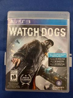 Watch Dogs Ps3 Con Envío Gratis