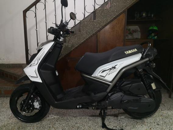 Yamaha Bws 125 2016, Única Dueña, Papeles Nuevos ,excelente.