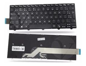 Teclado Para Dell Inspiron 14 I14 5458 B10 P64g Novo Br