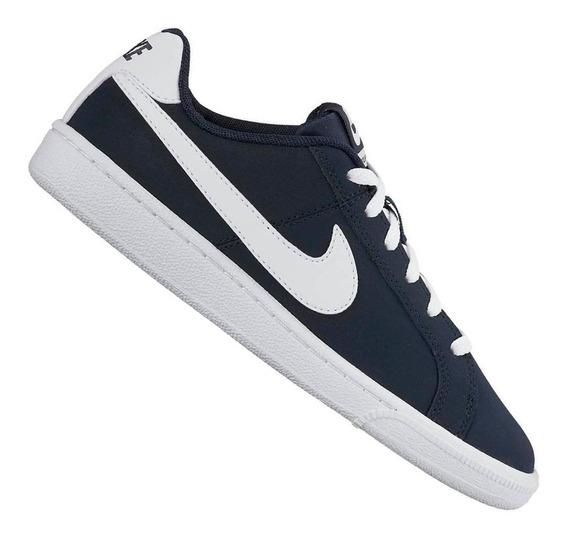 Tênis Nike Infantil Court Royale Marinho 833535400 Original