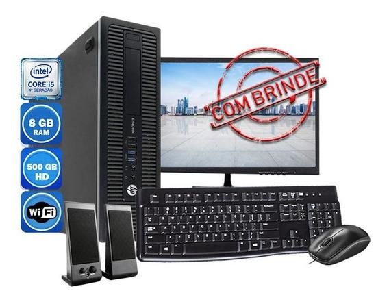 Computador Pc Completo Hp Intel I5 4°geração 8gb Hd 500gb