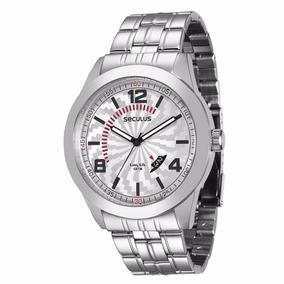 Relógio Seculus Masculino Analógico Aço - 28548gosvna1