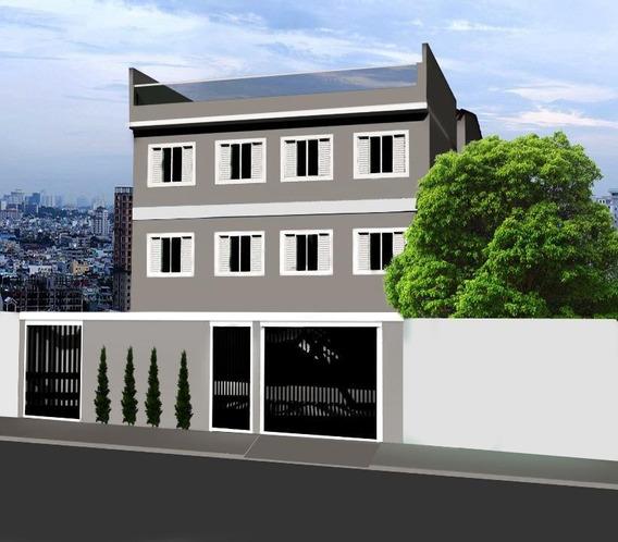 Cobertura Com 2 Dormitórios À Venda, 101 M² Por R$ 324.500,00 - Vila Assunção - Santo André/sp - Co0641