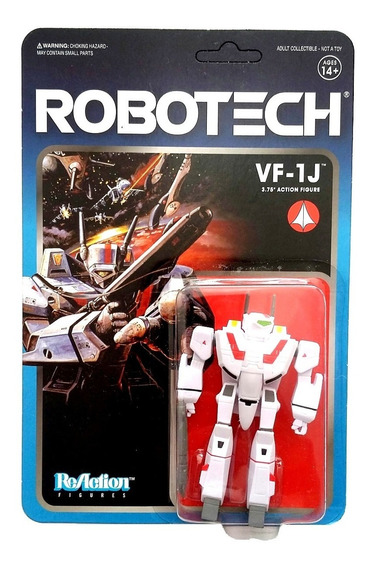 Vf-1j Robotech Reaction Veritech Fighter Super7