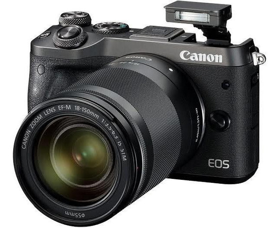 Canon Eos M6 + 18-150mm F/3.5-6.3 Ef-m Is Stm Black