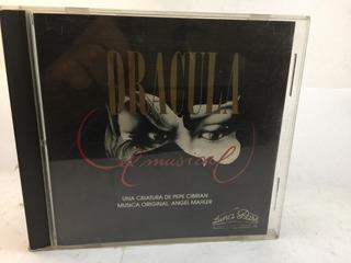 Cibrian Mahler Dracula El Musical Bso Cd