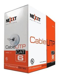 Caja De Cable Utp Marca Nexxt 305 Metros 100% Cobre Cat6