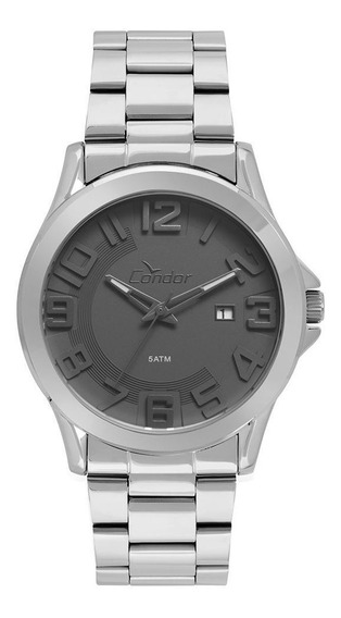 Relógio Condor Masculino Co2115ksr/3c Prata