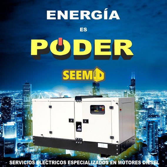 Plantas De Luz Generador Electrico Diesel. Nuevas Y Seminuevas Seemd