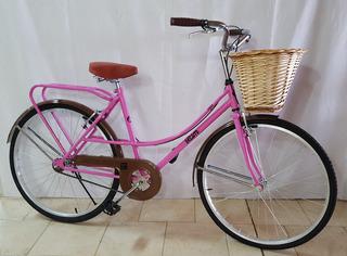 Bicicleta Vintage Dama Rodado 26 Ram