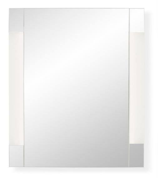 Espejo Moderno Luz Led Rectangular Maki 60x80 Reflejar Baño