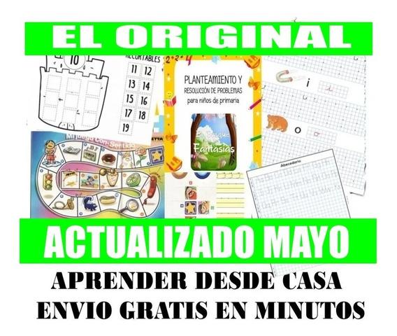Kit Imprimible Actividades Niños En Casa Cuarentena !!
