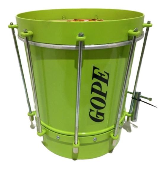 Cuíca Gope 09 X 28 Cm Alumínio Verde Limao - Lancamento