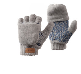Guantes Niño Mini Nordic Glove Mitts Gris Lippi