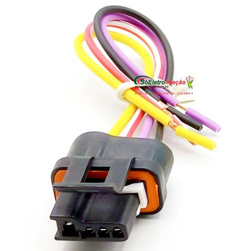 Chicote Plug Regulador Voltagem Delco 19009705 Ik558, Ik5553