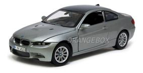 Bmw M3 Coupe 1:24 Motormax 73347-cinza