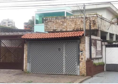 Imagem 1 de 17 de Sobrado Para Aluguel, 3 Quartos, 1 Suíte, 4 Vagas, Valparaíso - Santo André/sp - 8088